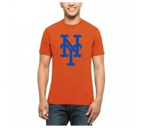 Мужская футболка 47 Brand 47 SPLITTER NEW YORK METS 317517-FS L